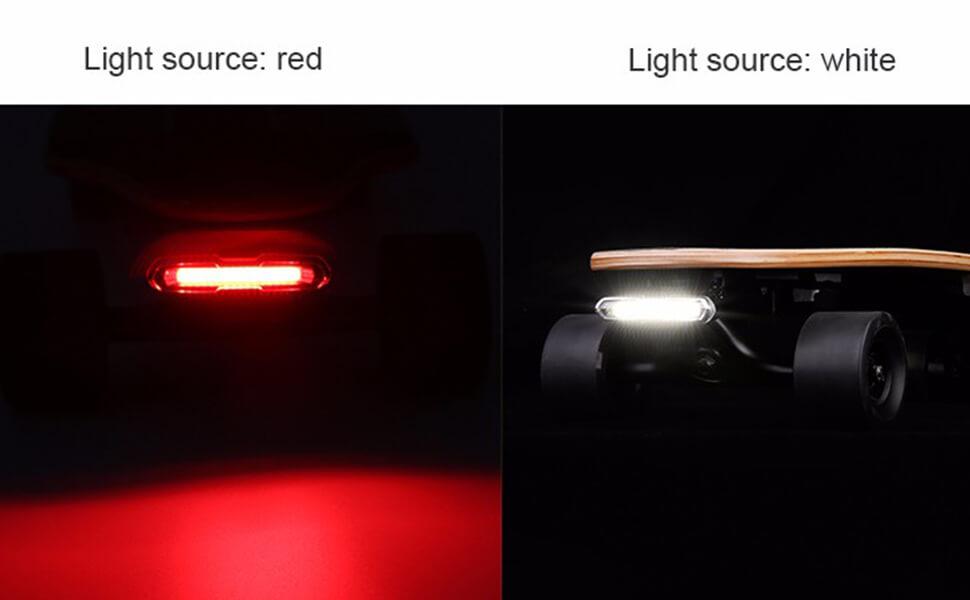 led lights for skateboard