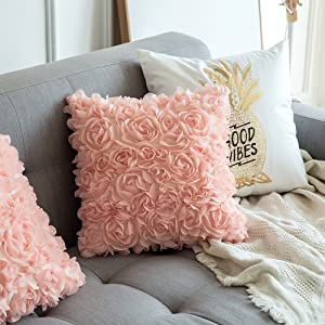 peach pink pillow coral