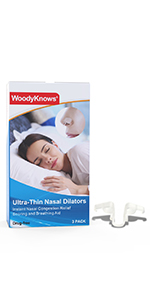 ultra-thin nasal dilators