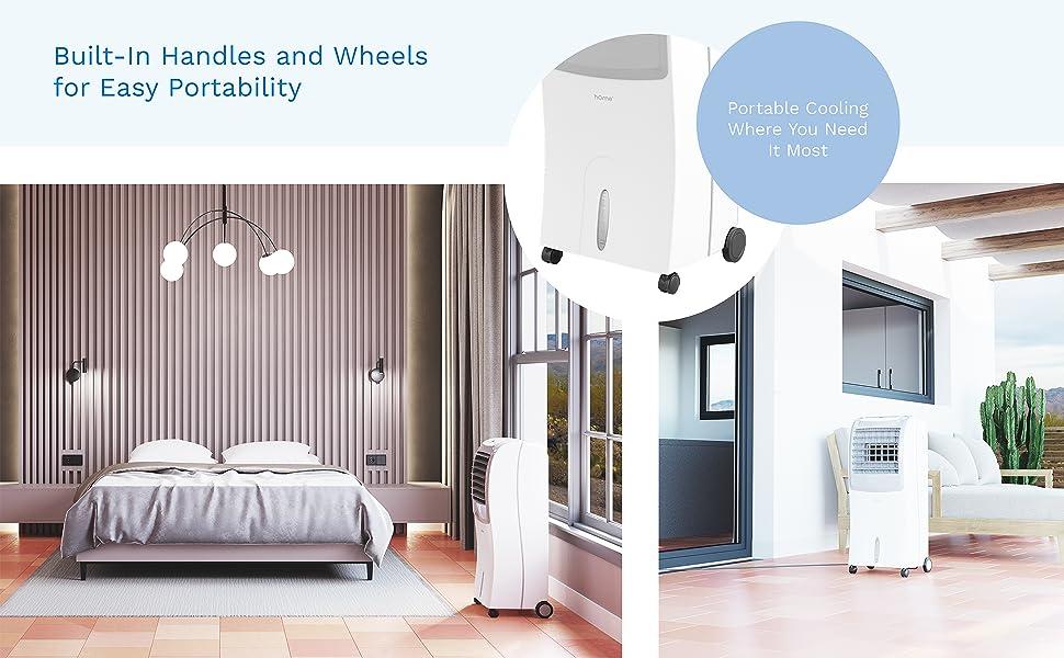 HomeLabs Portable Evaporative Cooler