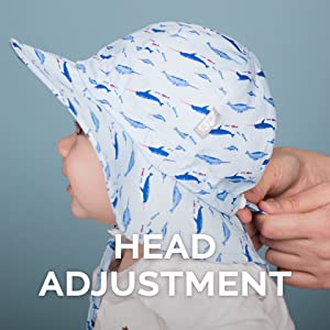 adjustment hat kids, baby, toddler, summer, sun