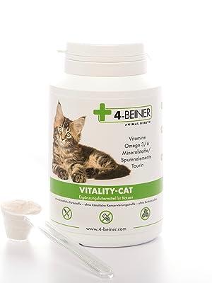 VITALITY-CAT Vitalität glänzendes Fell ältere Katzen Gelenke barfen Katze Haarballen Immunsystem