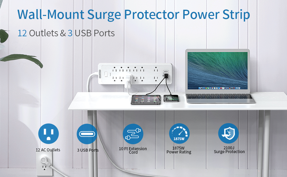 mountable power strip