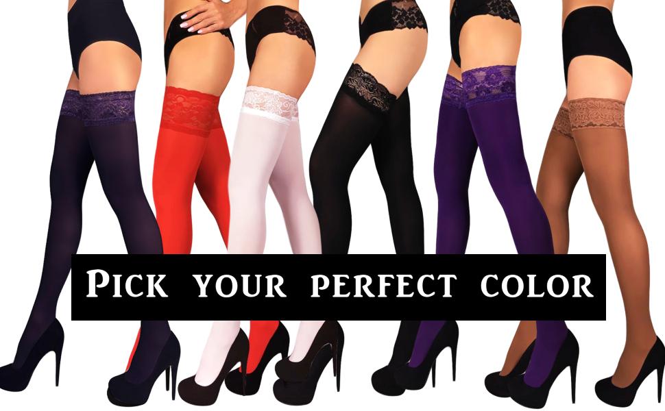 Mila Marutti Thigh High Stockings 100 Denier