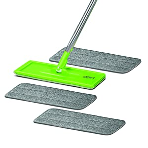 Lago Squeezo Flat Mop 3 Tufted Pads