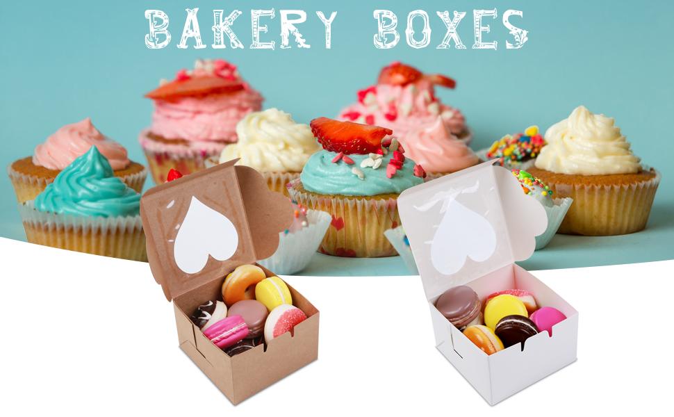 White and Bowen Bakery Box - 50 pcs