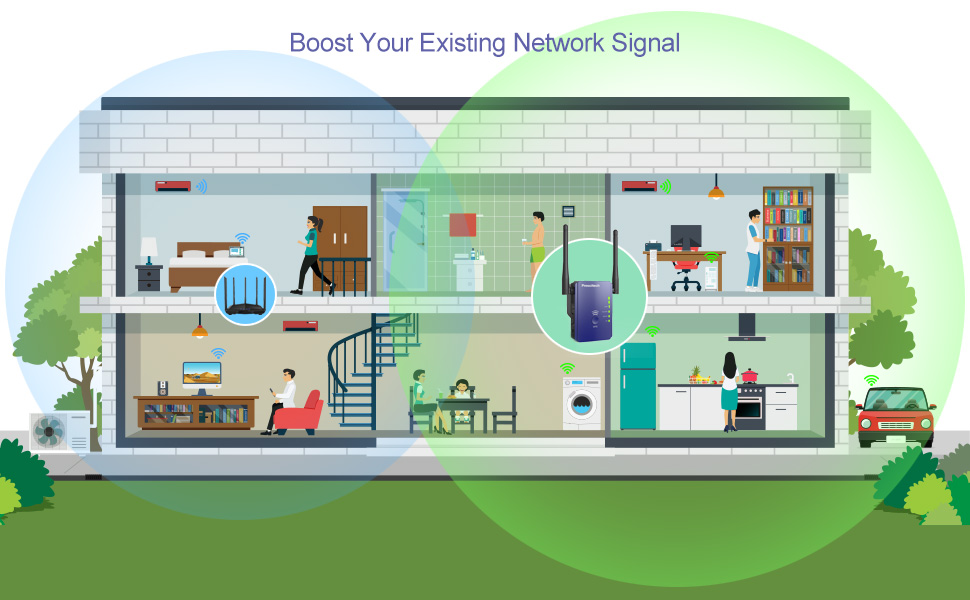 BOOST YOUR EXISTING NETWORK SIGNAL
