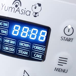 panda rice cooker yum asia yumasia zojirushi cuckoo aroma reishunger fuzzy logic ceramic mini small