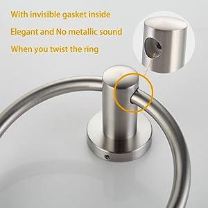 BGL Towel Ring Brushed Nickel