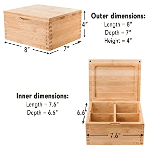 Stash Box Dimensions