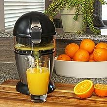 Fresh delicious orange juice