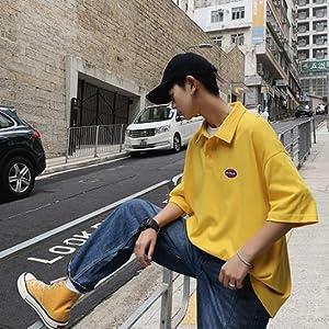韓国風tシャツ メンズ トレンド