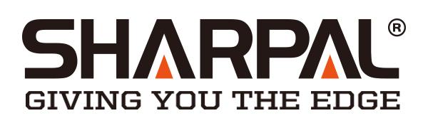 SHARPAL logo with slogan