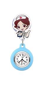 Spilla in silicone orologio
