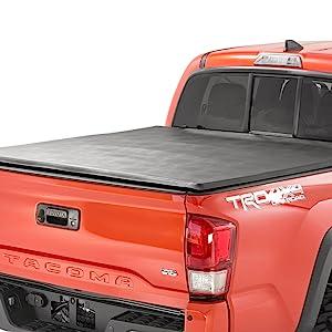 Soft Tri-Fold Tonneau Truck Bed Cover