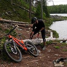 mountainbike saw