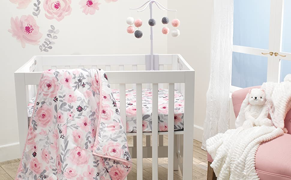 Blossom Mini Crib Bedding