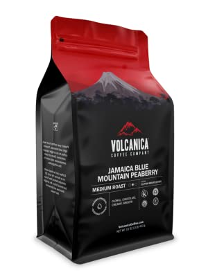 Jamaica Blue Mountain Peaberry Coffee - 100% Pure and Certified