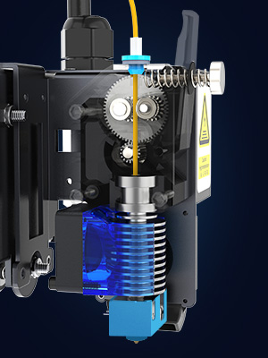 new direct drive extruder