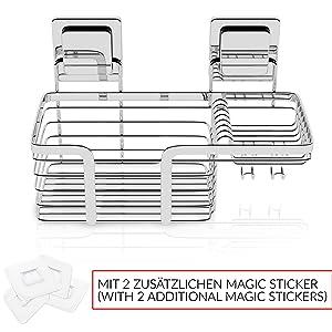 Practifox Reserve Extra Magic Sticker Stikkers Plakband Tape | Zelfklevend Doucherekje Douchemandje
