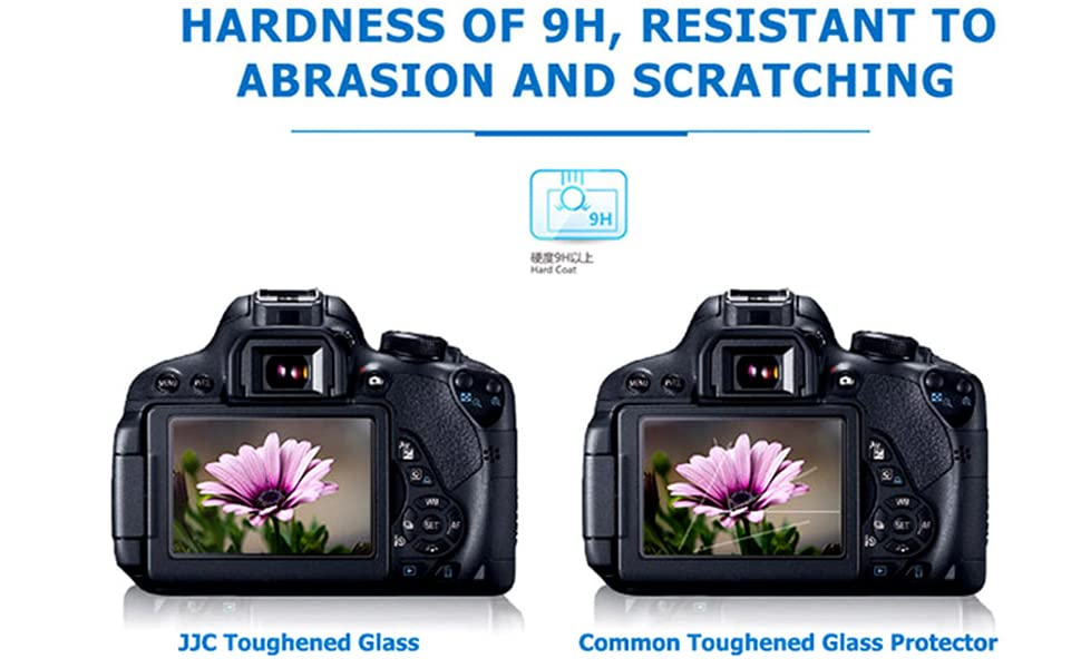 CAOMING 2.5D 9H Tempered Glass Film for Nikon Z6 Z7 Durable