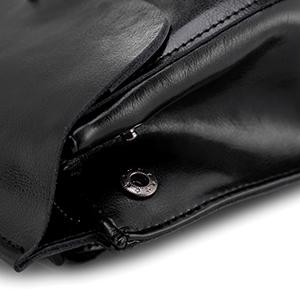pelle zaini da donna zaino di cuoio donna realer reale leather daypack pelle nero