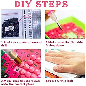 DIY hand-made to pass the time kit diamond colorful drill plane shining bright