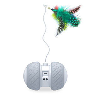 Designed with a flexible stick for feather attach, will not be blocked by furniture