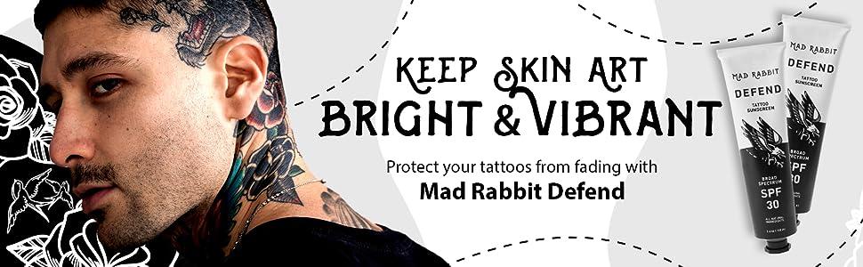 Keep Skin Art Bright & Vibrant