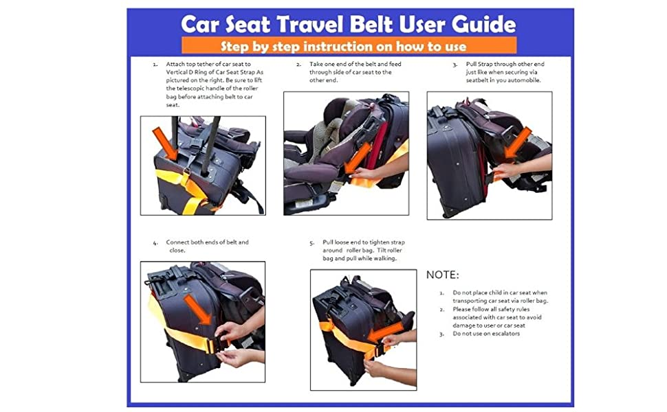 car seat travel bag backpack