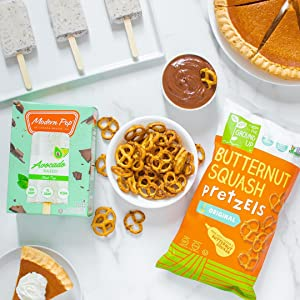 butternut squash pretzels