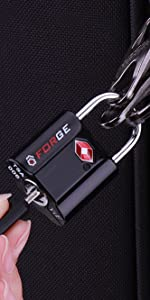 TSA Key luggage locks, TSA approved lock for suitcase, baggage locks, forge locks, key alike locks