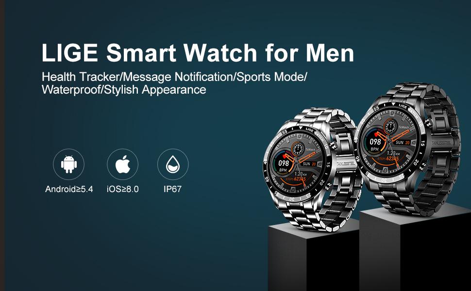 LIGE Smart Watch