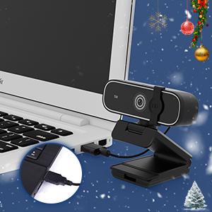 1080p Live Streaming Camera Webcam with Microphone Desktop Laptop Computer Web Camera HD Camera