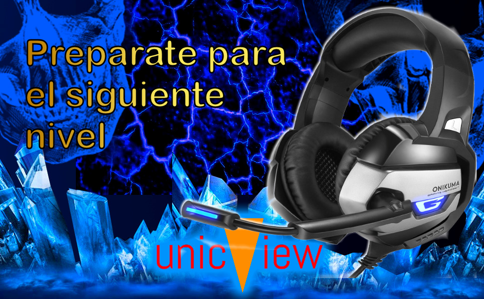 cascos gaming para ps5, xbox series x, xbox series s, ps4, xbox one, pc, auriculares gaming, micro