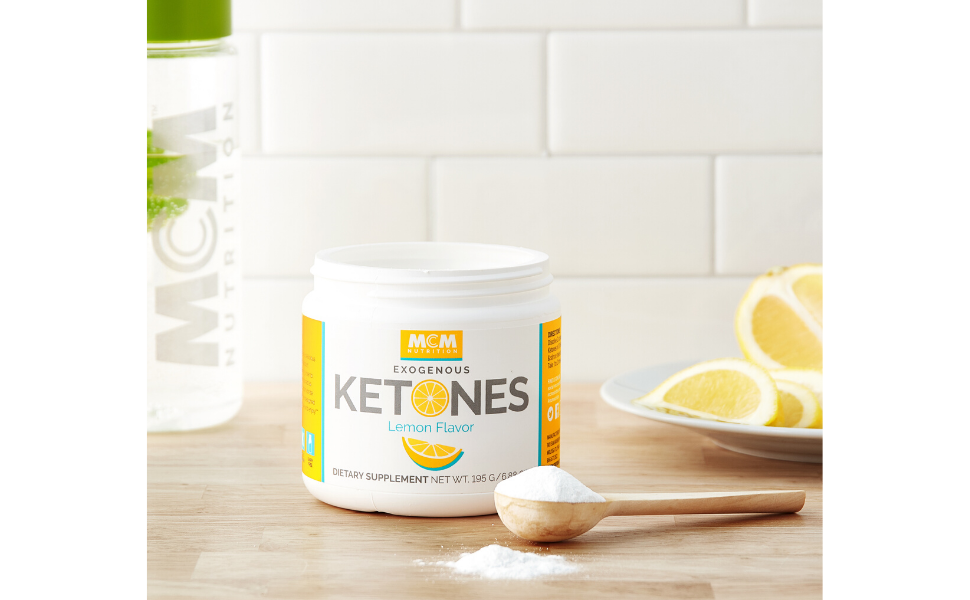 Lemon Exogenous Ketones Powder with BHB