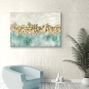 abstract canvas print,