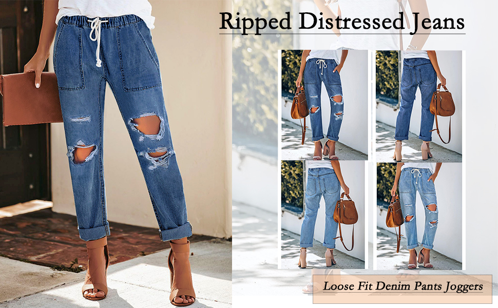 Amazon Com Utyful Women S High Waist Relaxed Fit Ripped Distressed Jeans Straight Leg Mom Denim Pants Clothing This fashion season there are many exciting things going on in denim fashion and we at nelly have filled up our collection with boyfriend jeans in scores of styles from the most trendy fashion brands. utyful women s high waist relaxed fit ripped distressed jeans straight leg mom denim pants