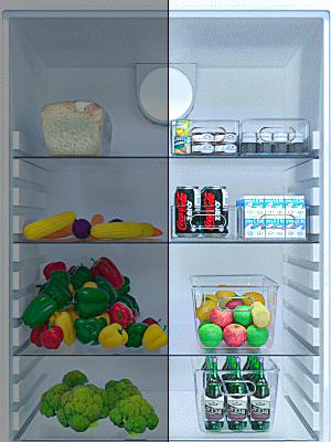 Après avoir utilisé notre boîte de rangement pour réfrigérateur