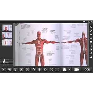 JOURIST DC80 visualizador para documentos con c/ámara de vigilancia de 8 MP para formato A3 Windows y macOS