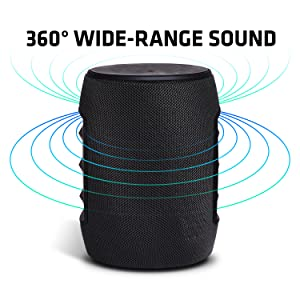 360 degree sound surround sound room filling sound bluetooth speaker big sound