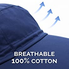 breathable 100% cotton