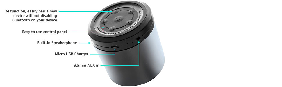 easy to control wireless speaker