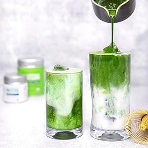 Jade Leaf Ceremonial Matcha - Lattes