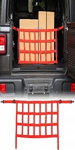 Trunk Cargo Net for 2018-2021 Jeep Wrangler JL JLU 2 Door amp; 4 Door