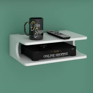 wall set top box stand