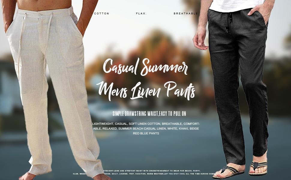 Casual Summer Beach Pants