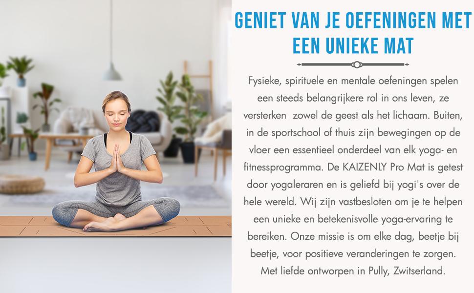 Yogamatten Kurk