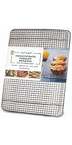 cake cooling rack half sheet size