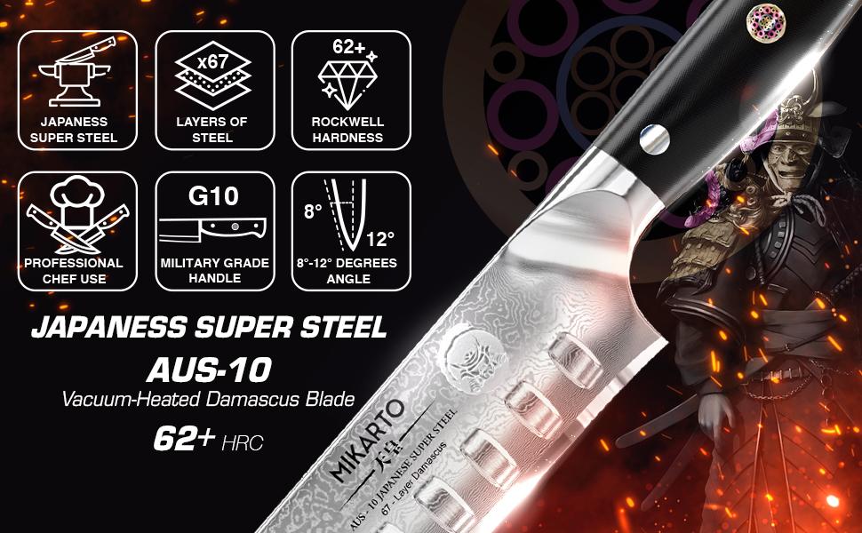 AUS - 10 Japanese Super Steel